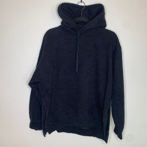 🔻Everlane - Black Hooded Sweatshirt